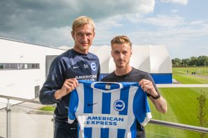 Joe Bennett and Sami Hyypia