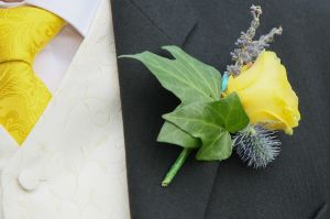 Buttonhole and Tie