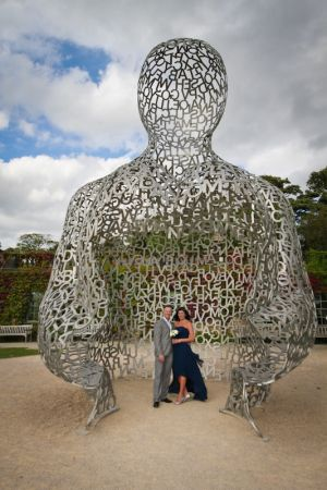 Karl and Mel at the Yorkshire Sculpture Park
