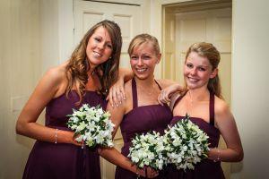 Smiling Bridesmaids