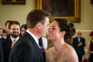 Tim and Claire have been declared husband and wife