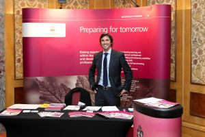 The MD on his Exhibition Stand